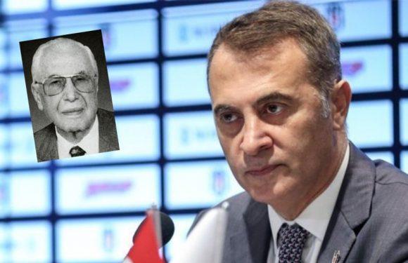 Şevket Belgin Kupasını BJK Başkanı Fikret Orman verecek!