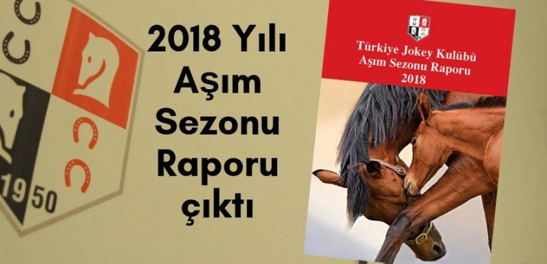 2018 Yılı Aşım Sezonu Raporu çıktı