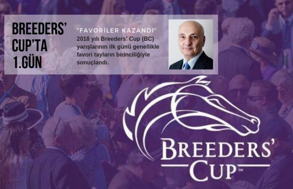 BREEDERS' CUP'ta 1.Gün…