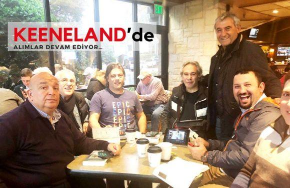 Keeneland'de alımlar devam ediyor…