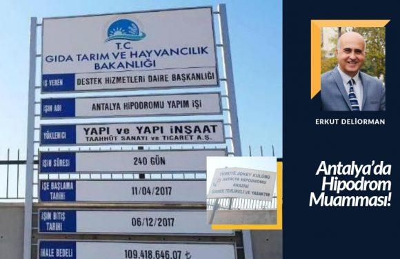 Antalya'da Hipodrom Muamması!