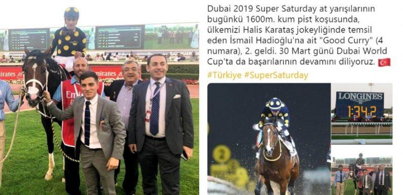 Bir tebrik de Dubai Başkonsolosluğundan!