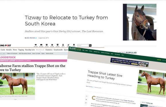 TRAPPE SHOT ve TIZWAY Dünya Basınında…