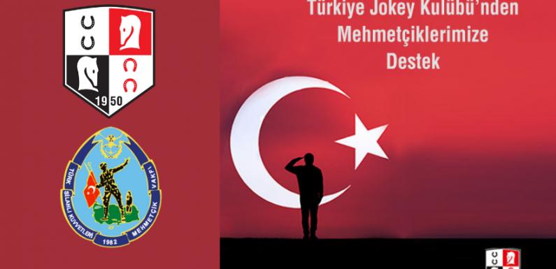 Türkiye Jokey Kulübü'nden Mehmetçiklerimize destek