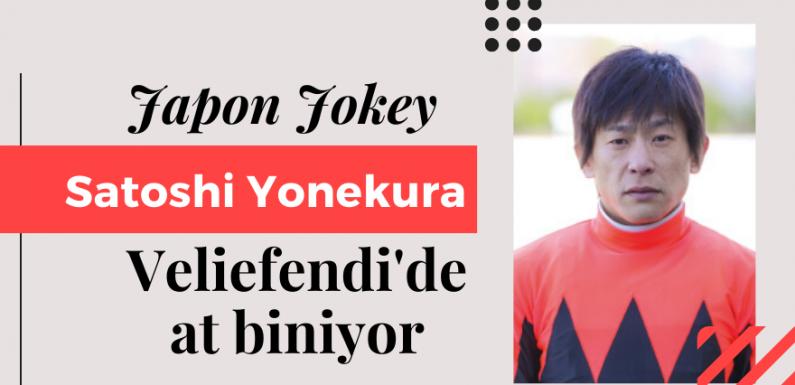 Japon Jokey YONEKURA Veliefendi'de at biniyor