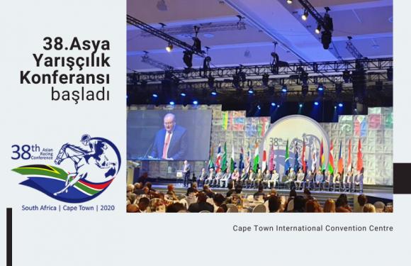 38.Asya Yarışçılık Konferansı başladı…