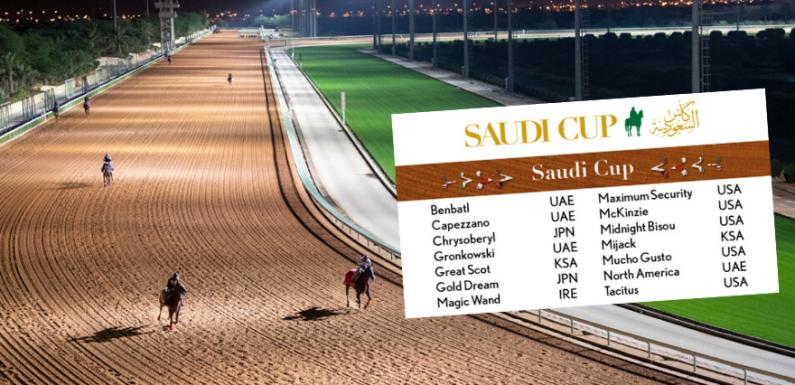 SAUDI CUP – Koşulara Katılacak Atlar Açıklandı