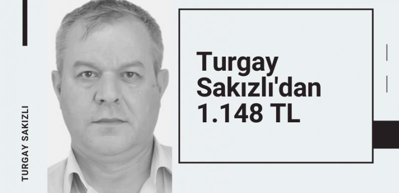 Turgay Sakızlı'dan 42 TL'lik kuponla 1.148 TL…