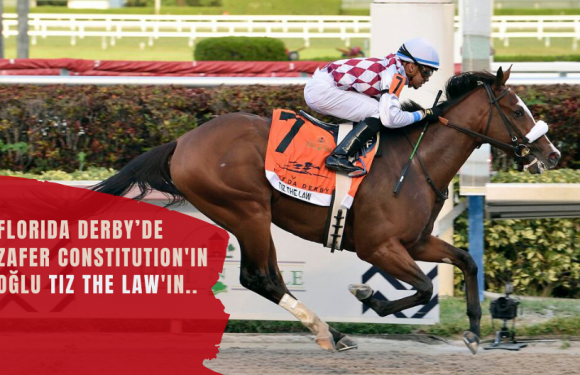 Florida Derby'de zafer Tiz the Law'ın…