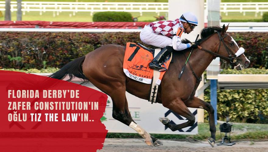 Florida Derby'de zafer Tiz the Law'ın…