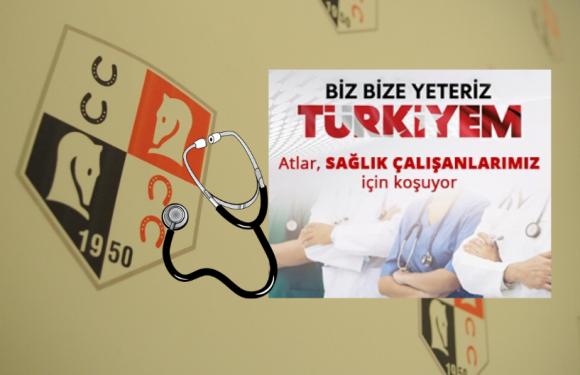 TJK'dan Sağlıkçılara mesaj, Kampanya'ya destek!