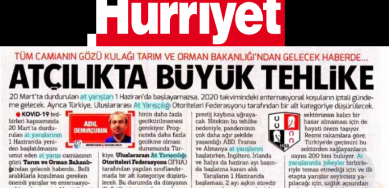 Türk Atçılığı Küme Düşebilir!