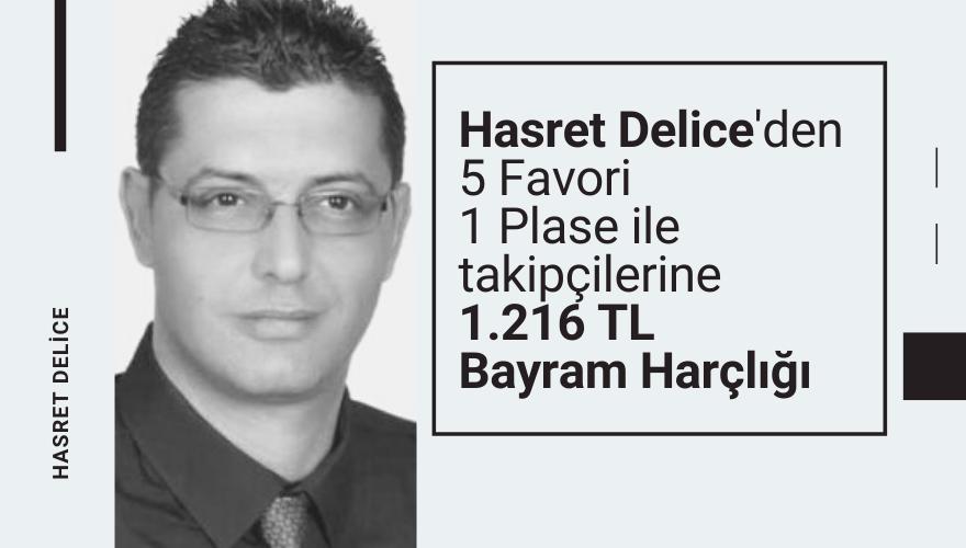 Hasret Delice'den 5 Favori ile takipçilerine 1.236 TL