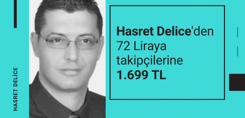 Hasret Delice'den takipçilerine 1.699 TL…