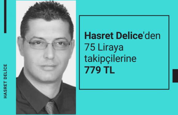 Hasret Delice'den takipçilerine 779 TL