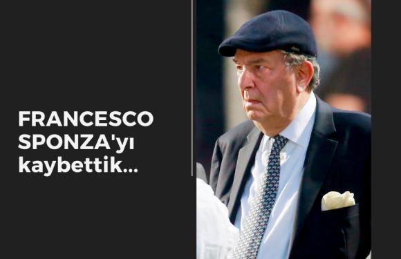 Francesco Sponza'yı kaybettik…