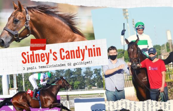 Sidney's Candy'nin 3 yaşlı temsilcisinden G2 galibiyet!