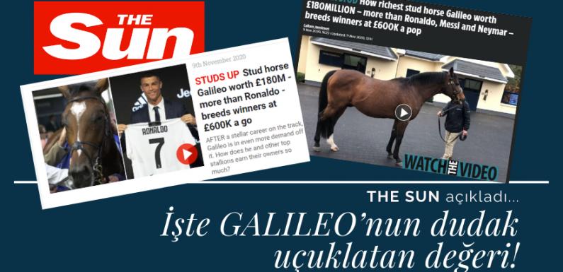 The Sun açıkladı! İşte GALILEO'nun dudak uçuklatan değeri!