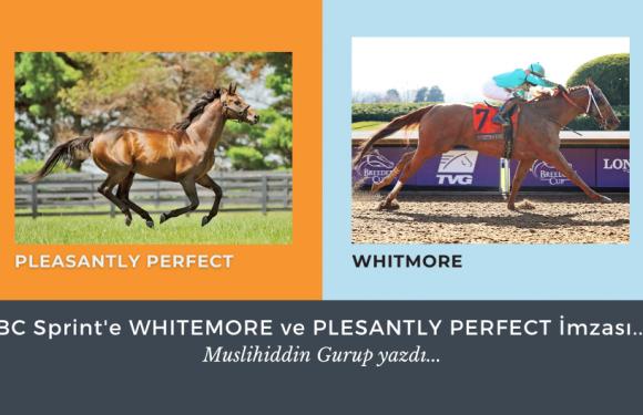 BC Sprint'e WHITEMORE ve PLESANTLY PERFECT İmzası…