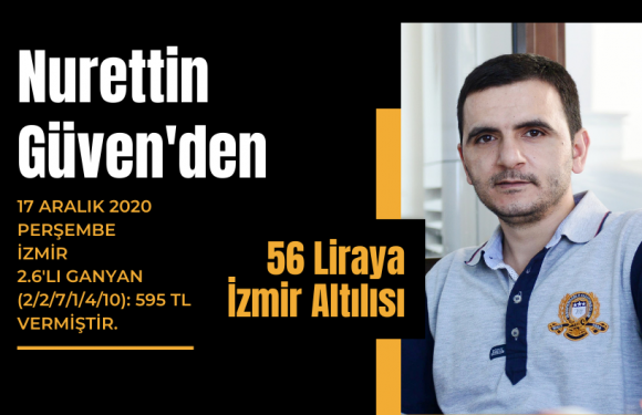 Nurettin Güven'den 56 liraya İzmir Altılısı…