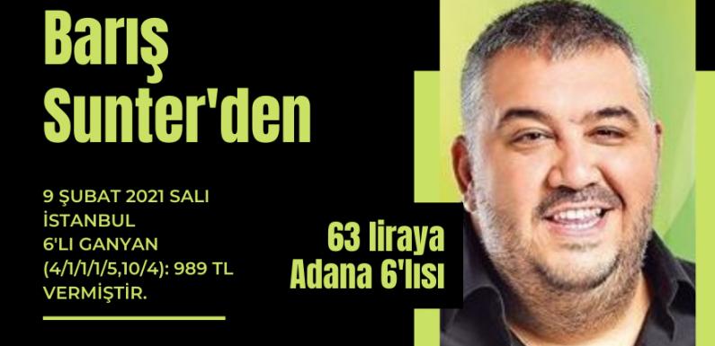 Barış Sunter'den 63 liraya Adana Altılısı…
