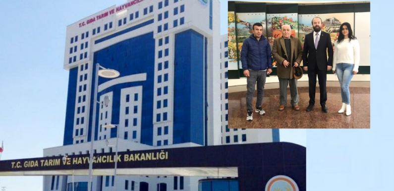 YAAMD'den 3 kişilik heyet Ankara'ya gitti!