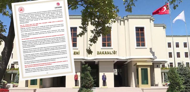 Kaos bitti! İçişleri Bakanlığı açıklama yaptı…