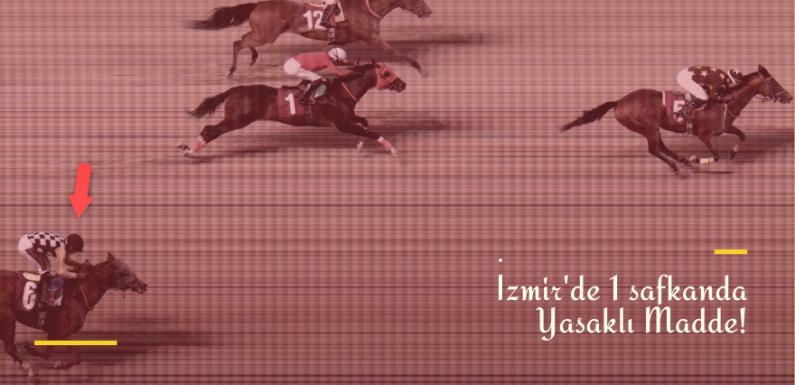 İzmir'de 1 safkanda daha Yasaklı Madde!