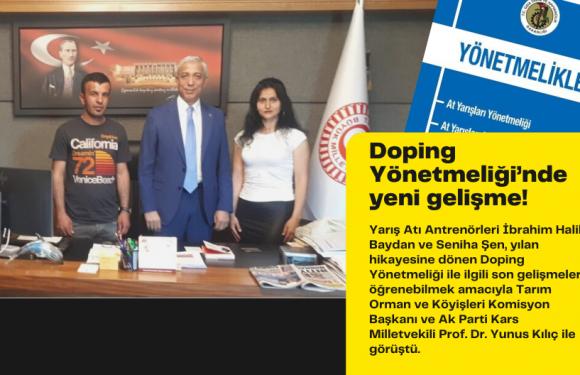 Doping Yönetmeliği'nde yeni gelişme!