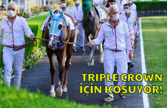 Triple Crown için koşuyor!