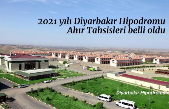 2021 yılı Diyarbakır Hipodromu ahır tahsisleri belli oldu