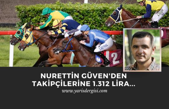 Nurettin Güven'den takipçilerine 1.312 Lira…