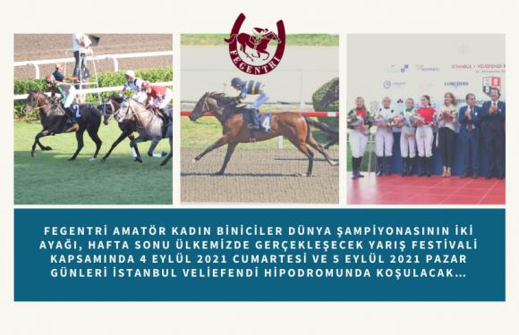 FAKBDŞ Koşusunda ilk gün 6 Kadın Binici yarışacak!