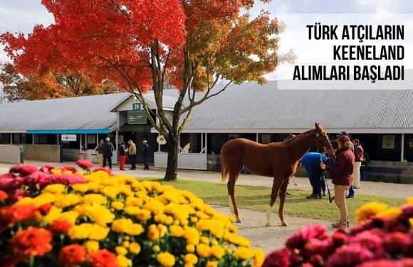 Türk Atçıların Keeneland Alımları Başladı…