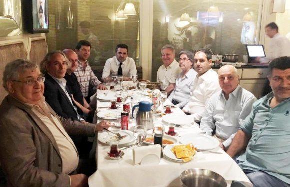 Talip Öztürk'den Basına iftar…