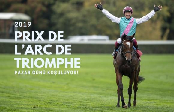 2019 Prix De L'Arc De Triomphe Pazar günü koşuluyor!