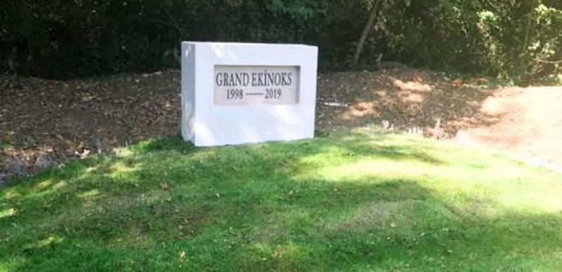 Şampiyonun mezarı tamamlandı!
