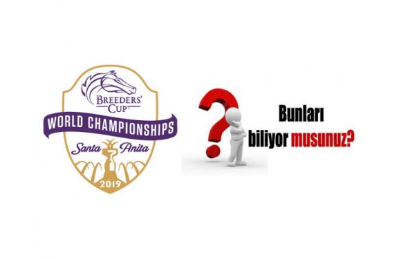 Breesders Cup – Bunları Biliyor musunuz?
