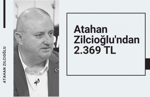 Atahan Zilcioğlu'ndan 60 TL'ye 2.300 TL