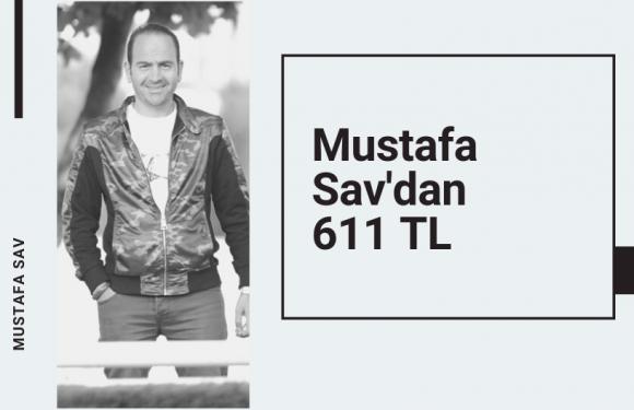 Mustafa Sav'dan 611 TL'lik İzmir Altılısı…