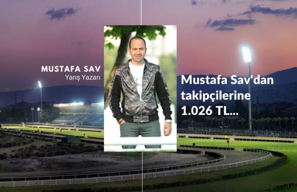 Mustafa Sav'dan takipçilerine 1.026 TL…