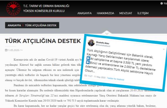 YKK'dan Türk Atçılığına Destek Açıklaması!