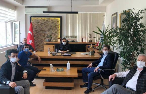 Yeni Dernek'ten, TYAYSD Başkanı Talip ÖZTÜRK'e ziyaret