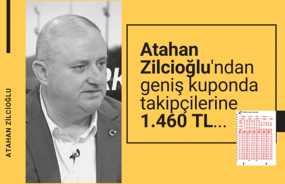 Atahan Zilcioğlu'dan geniş Kuponda 1.460 TL…