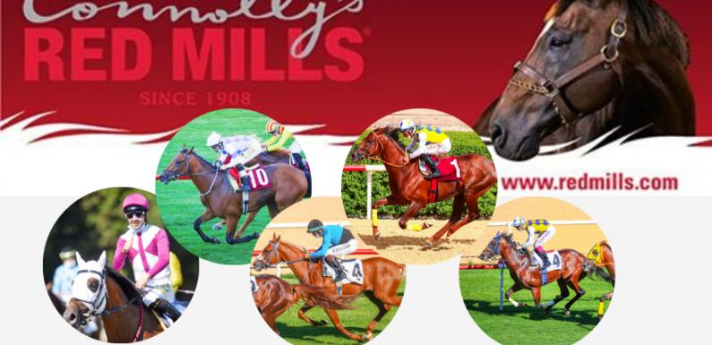 Connolly's RED MILLS başarılı safkanları tebrik eder