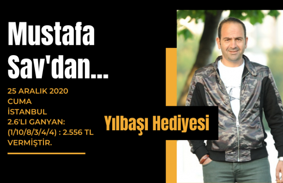 Mustafa Sav'dan Yılbaşı Hediyesi!