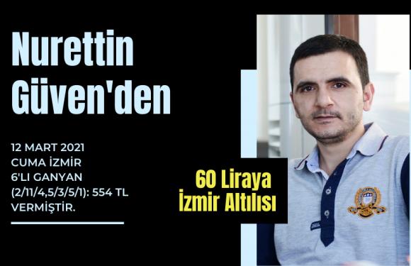 Nurettin Güven'den 60 liraya İzmir Altılısı…