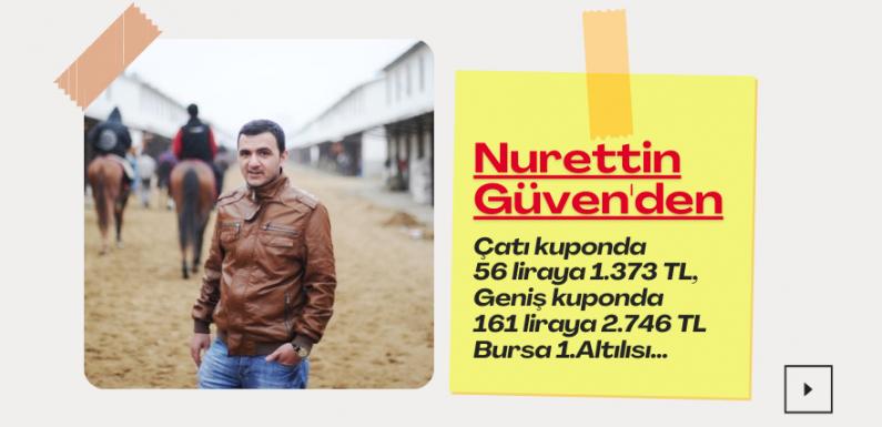 Nurettin Güven'den 56 liraya 1.373 TL…