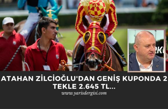 Atahan Zilcioğlu'dan geniş kuponda 2 Tekle 2.645 TL