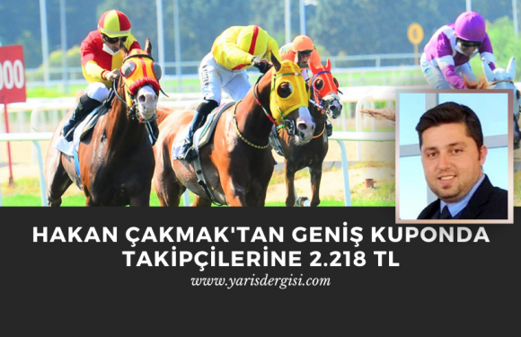 Hakan Çakmak'tan Geniş Kuponda takipçilerine 2.218 TL